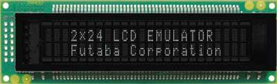 LCD Emulator 2x24