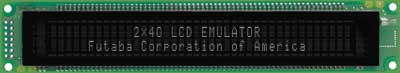 LCD Emulator 2x40