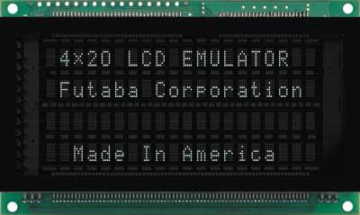 LCD Emulator 4x20