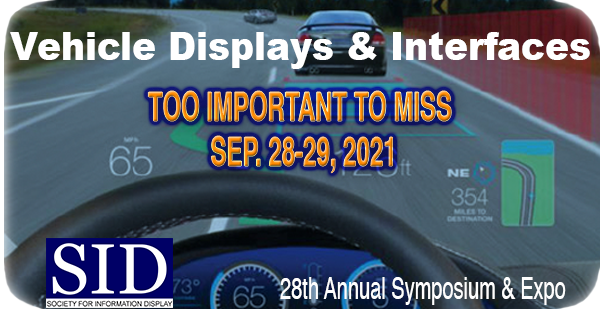 SID Vehicle Display and Interfaces Exhibition